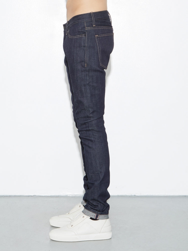 Load image into Gallery viewer, Classic Skinny Jean in Selvedge Indigo by OAK