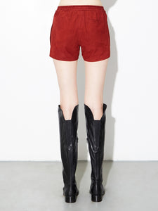 Oak LA Suede Reed Short in Burnt Orange in Burnt Orange by Oak