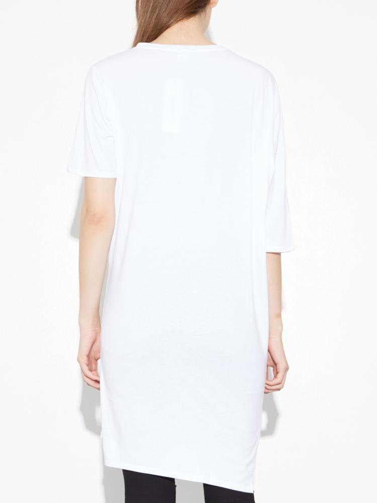 Load image into Gallery viewer, Long Drop Shoulder Tee