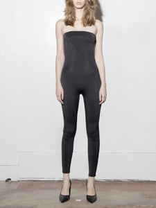 Tube Jumpsuit in Black by A/OK