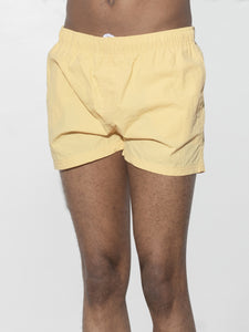 Cropped Swim Short in Sol by Oak