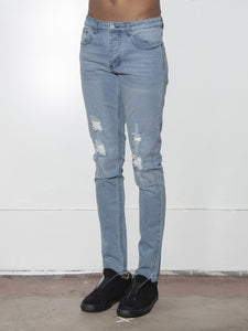 Mid Skinny Trashed in Indigo by Oak