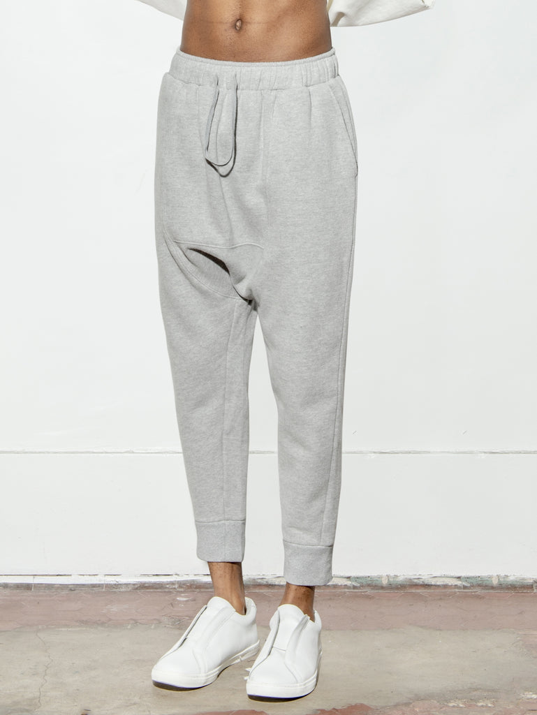 Load image into Gallery viewer, Cuffed Gusset Sweatpant
