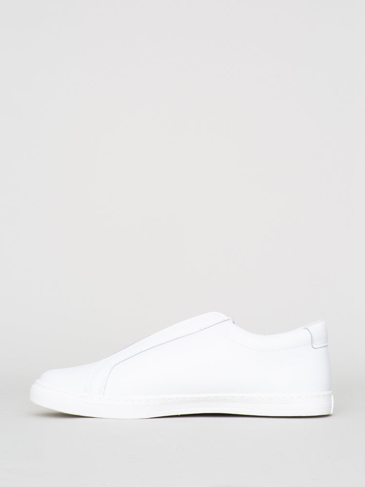 Load image into Gallery viewer, Oak Union Sneaker in white suede