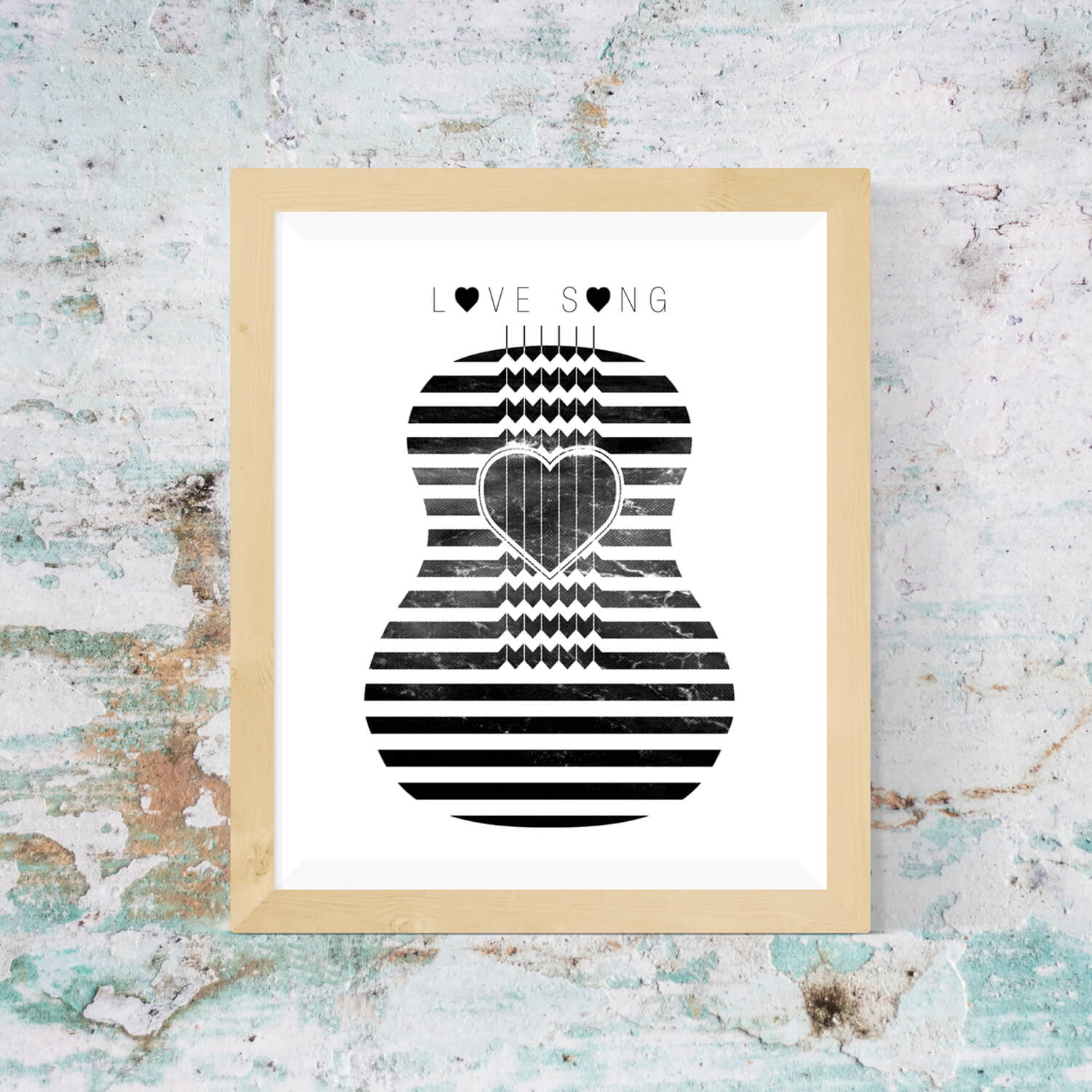 Love Song Print - Vision City Design Studio