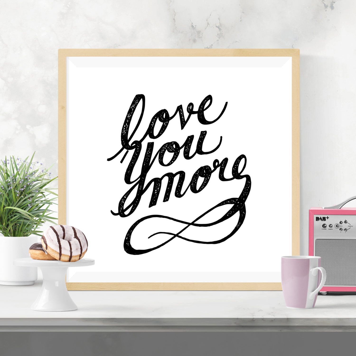 Love You More Print - Vision City Design Studio