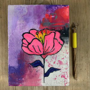 Beautiful Dreamer - Original Encaustic Painting