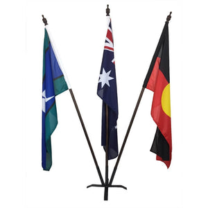 Australian, Aboriginal and TSI Foyer Display with Metal Base