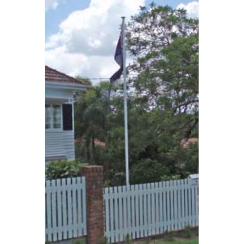 Standard 6m outdoor flagpole