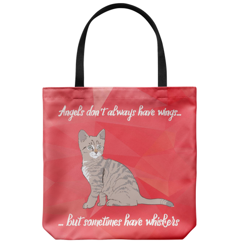 Angels Have Whiskers Tote