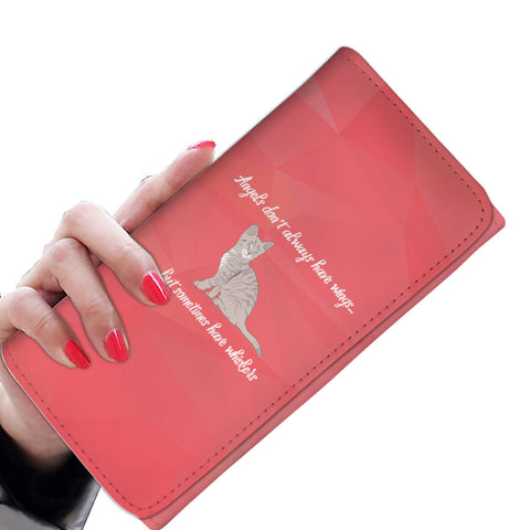 Angels Have Whiskers Women's Wallet