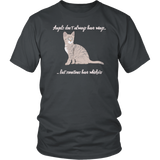 Angels Have Whiskers Unisex Shirt