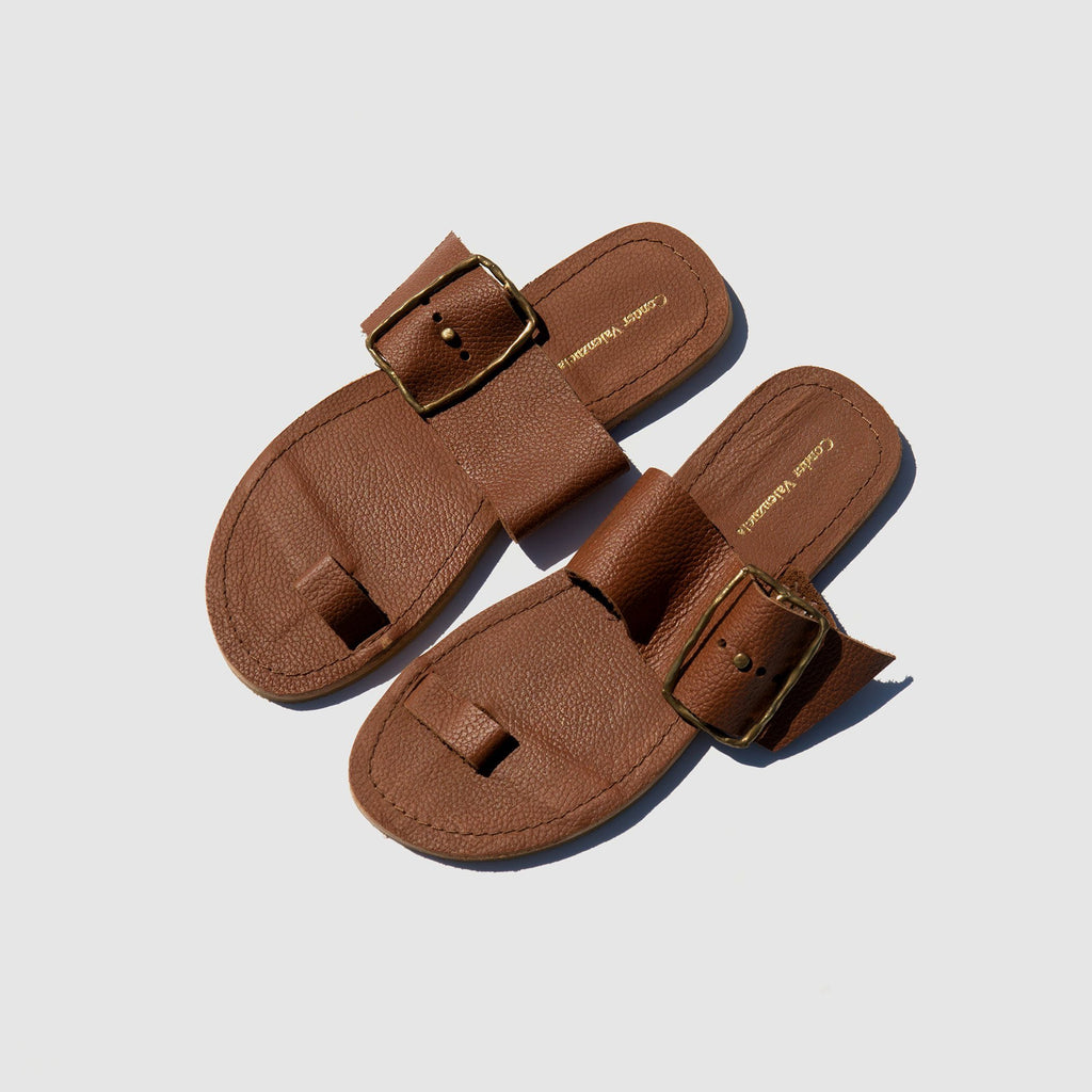 SHOES - BROWN CONDER VALENZUELA SANDALS