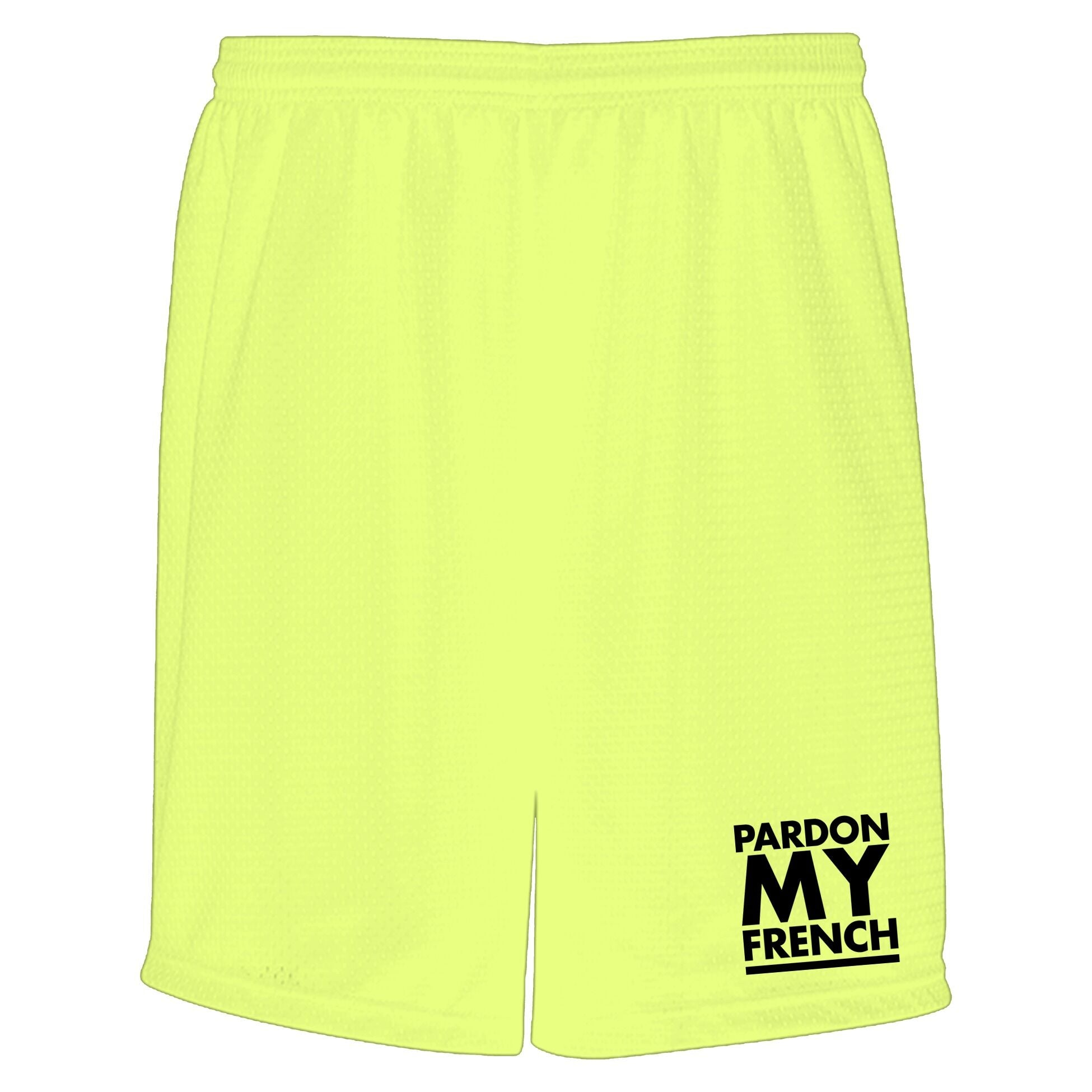TRUNKS PMF CLASSIC LOGO NEON YELLOW