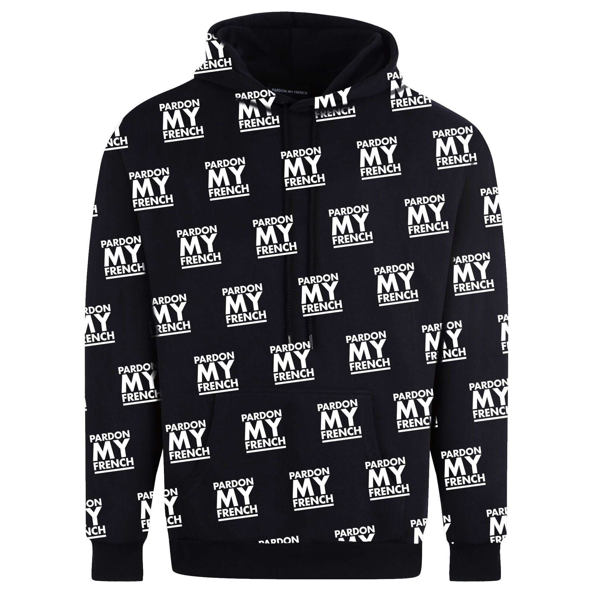 HOODIE ALL OVER BLACK