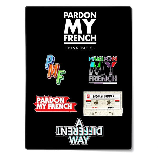 PMF PIN'S PACK (OPTION : PIN'S PACK 3)