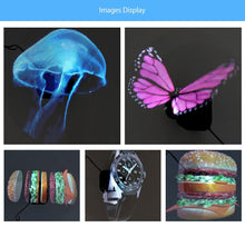 Load image into Gallery viewer, 3D Holographic Display Fan with Portable LED Projector