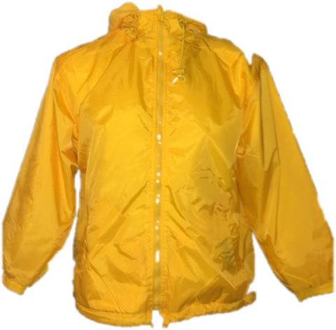 GOLD IS  YELLOW WINDBREAKER