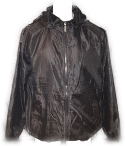 JET BLACK WINDBREAKER