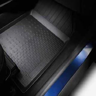 Dacia Duster 2 Rubber Floor Mats with seat drawer RHD