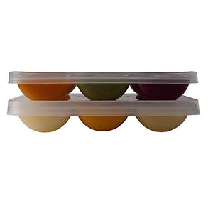Twin pack Solids Starter Kit baby food freezer tray, 4 trays