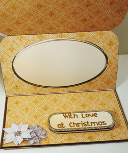 Beautiful Christmas Bell Easel Card