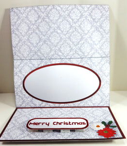 Santa's Christmas Cottage 3D Easel Card