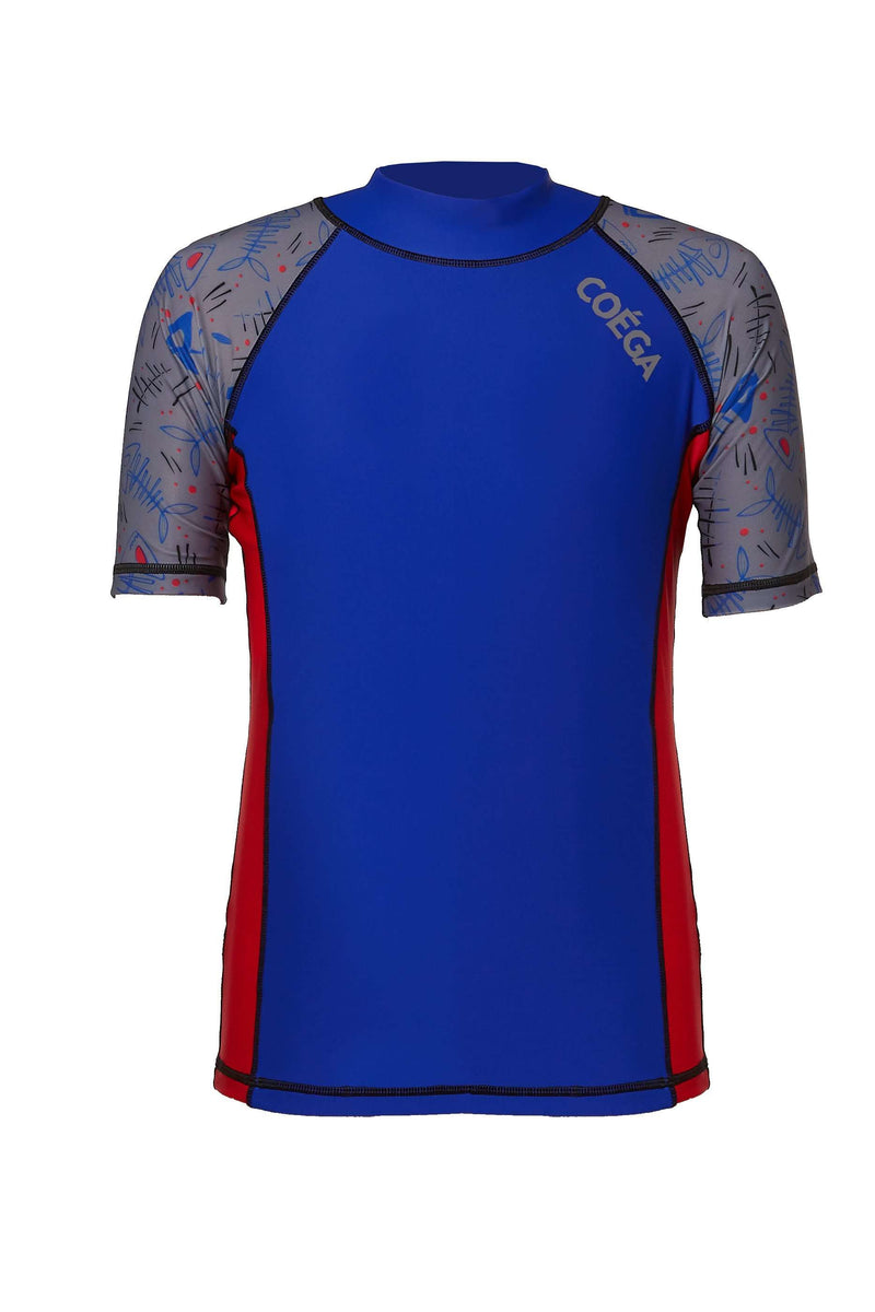 COEGA Boys Youth Rashguard - Short Sleeve