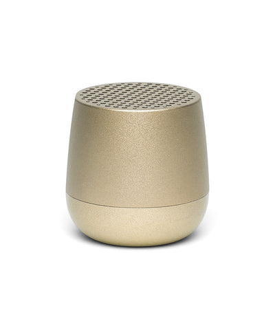 Lexon Mino TWS Pairable Bluetooth Speaker - Light Gold