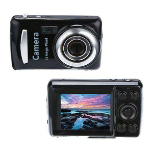 2.4HD Screen EV-3 - EV+3 Digital Camera - 16MP Vulcan Mart B
