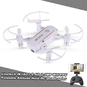 Wifi FPV Foldable Altitude Hold Remote Control Helicopter