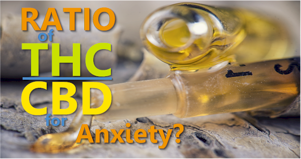 best cbd to thc ratio for anxiety