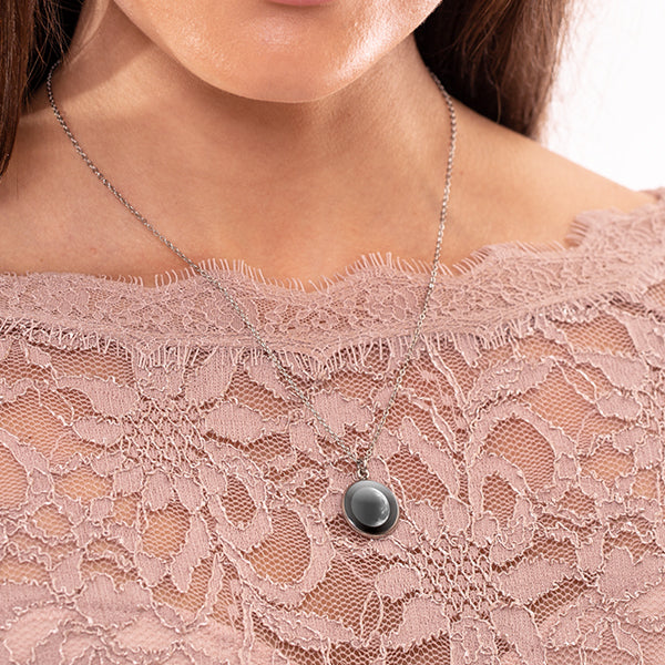 Waning Crescent II Luna Necklace