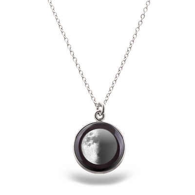 First Quarter Luna Necklace