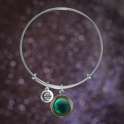 Waning Crescent II Luna Bangle Bracelet