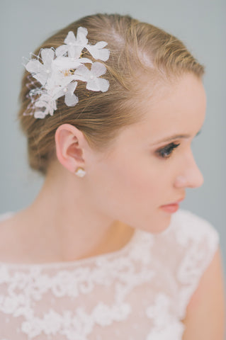 Mini Petal and Net Comb - Style #1419