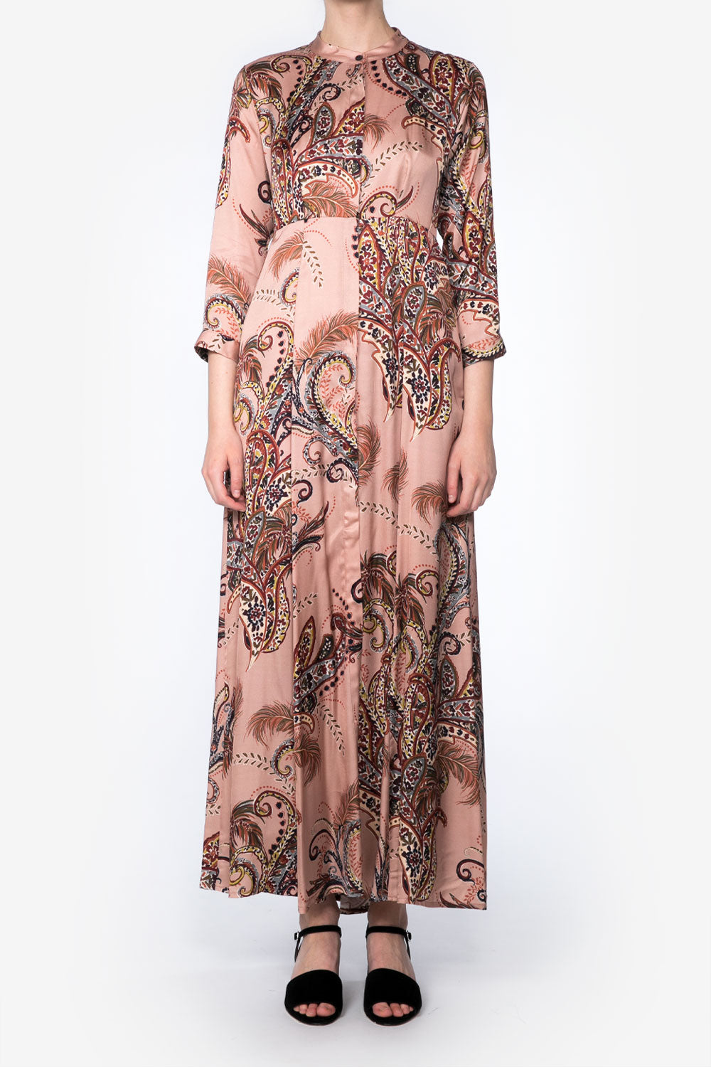 Beatrice Dress in Paisley