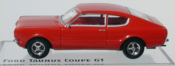 Brekina Ford Taunus Coupe'  GT Red