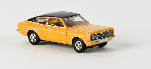 Brekina Ford Taunus Coupe' GXL  Orange
