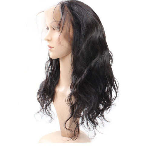 Malaysian Body Wave 360 Lace Frontal Closure - Exotic Hair Shop