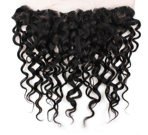 "Malaysian Water Wave Lace Frontal 13""x4"" - Exotic Hair Shop"