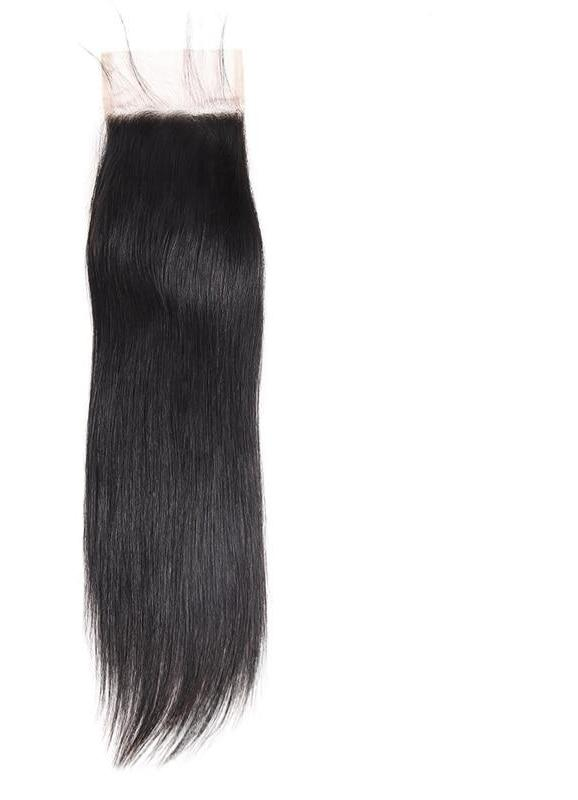 "Indian Straight Hair 4""x4"" Lace Closure - Exotic Hair Shop"