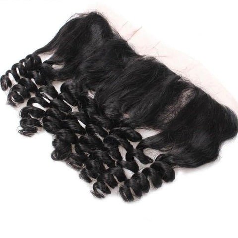 "Brazilian Loose Wave Lace Frontal 13""x4"" - Exotic Hair Shop"