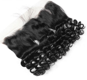 "Malaysian Loose Wave Lace Frontal 13""x4"" - Exotic Hair Shop"