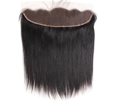 "Brazilian Straight Lace Frontal 13""x4"" - Exotic Hair Shop"