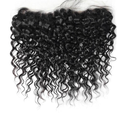 "Brazilian Water Wave Lace Frontal 13""x4"" - Exotic Hair Shop"