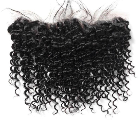 Indian Exotic Wave 13x4 Lace Frontal Closure - Exotic Hair Shop