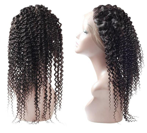 Malaysian Curly 360 Lace Frontal Closure - Exotic Hair Shop
