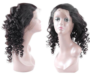 Malaysian Loose Wave 360 Lace Frontal Closure - Exotic Hair Shop