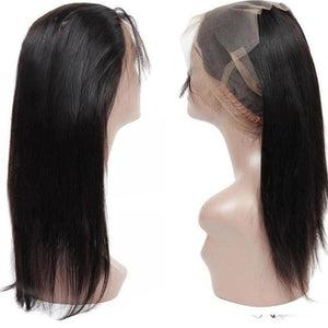 Brazilian Straight 360 Lace Frontal Closure - Exotic Hair Shop